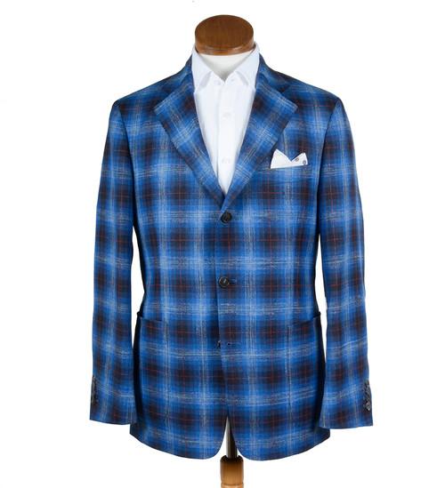 Wool Silk Linen Soft Structured Jacket