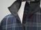 Warrior Poet Half Zip Wool Tartan Golf Jacket 4