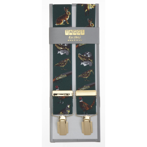 Taggs of Mayfair Game Braces - Green