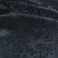 Victorian  Black 50/50 Acetate Viscose