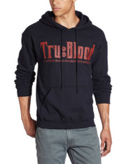 HBO'S True Blood Men's Pullover Hoodie, Black, Medium