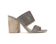 Dolce Vita EMES Heels Perforated Nubuck, color:  Smoke