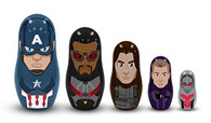 Captain America Civil War: Team Captain America Nesting Dolls