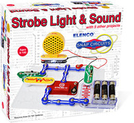 Elenco Electronics SCP-14 Snap Circuits Strobe Light & Sound Kit