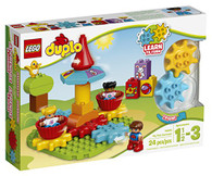 LEGO DUPLO My First Carousel 10845, Preschool, Pre-Kindergarten, Large Building Block Toys for Toddlers
