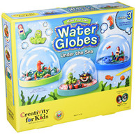 Faber-Castell 1858 Creativity for Kids Make Your Own Water Globes- Under The Sea Playset