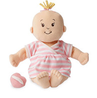 Manhattan Toy Baby Stella Peach Soft Nurturing First Baby Doll for Ages 1 Year and Up, 15""