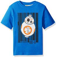 Star Wars Little Boys' Lego Bb-8 T-Shirt, Blue, 5/6