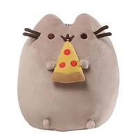 Gund Pusheen Pizza Snackable Stuffed Toy Plush