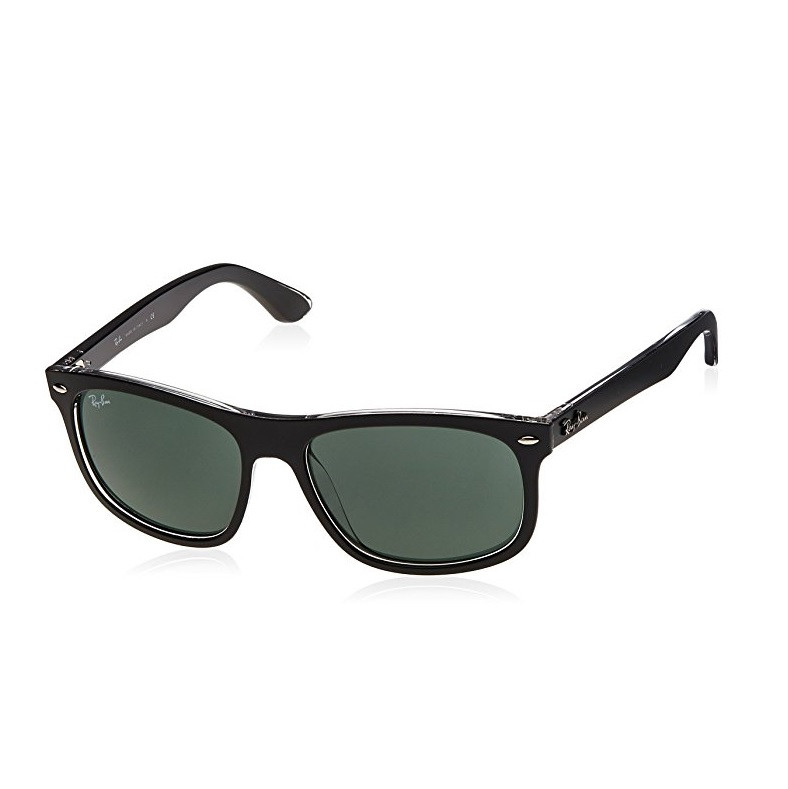 2ab6b9d289 Ray-Ban Injected Man Sunglasses - Top Matte Black on Transparent ...