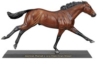 Breyer W1757 American Pharoah 2015 Triple Crown Winner Horse 1/9 Scale Replica