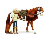 Breyer Spirit Riding Free-Boomerang and Abigail Toy Gift Set