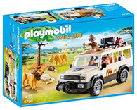 PLAYMOBIL Safari Truck with Lions