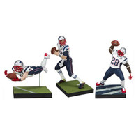 NFL New England Patriots Championship Action Figure 3-Pack