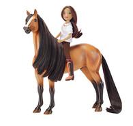 Breyer Spirit Riding Free-Spirit and Lucky Horse Doll Gift Set