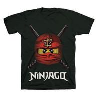 LEGO Ninjago Ready to Battle Face, Boys, Size 5/6 (Black)