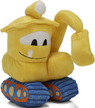 Goodnight, Goodnight, Construction Site Sound & Light Excavator 9 inch Plush, By Kids Preferred