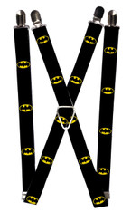 Buckle-Down Kids Elastic 1 Inch Wide Clip-End Suspenders