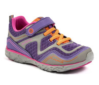 pediped Flex® Force Sneaker - Purple (Toddler/Little Kid/Big Kid)