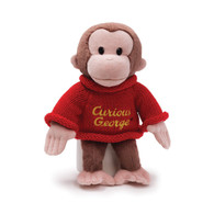 Curious George in Winter Sweater Plush, 12 inch (30.5 cm)