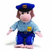 Curious George Policeman Plush, 13 inch (33 cm)