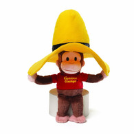Curious George in Yellow Hat, 10 inch (25 cm)