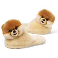 Gund Boo, the World's Cutest Dog - Child Sized Slippers, Toddler (up to size US 10)