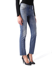 Diesel, Denim, Women's, Regular straight (SANDY 0847L), Medium Blue Jeans