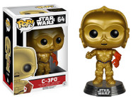 Star Wars The Force Awakens (EP7) Movie Based Pop! Collectible by Funko - C-3PO + BONUS!