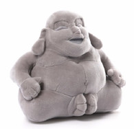 Gund Huggy Buddha Medium Plush, Grey, 7.5 inch (19 cm)