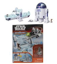 Hasbro Star Wars The Force Awakens Micro Machines R2-D2 Playset + BONUS!