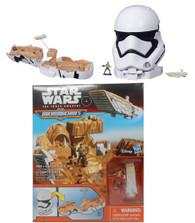 Hasbro Star Wars The Force Awakens Micro Machines First Order Stormtrooper Playset + BONUS!