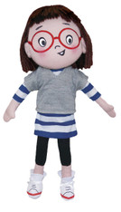 Louise Loves Art Plush Doll, 12 inch (30.5 cm)