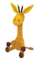 Steam Train, Dream Train Giraffe Doll Plush Doll, 14 inch (35.6 cm)