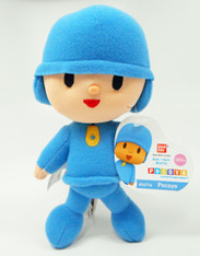 Pocoyo MINI Plush by Bandai America, 6 inch  (15.2 cm)