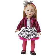 Madame Alexander Dollie & Me Blonde Doll in Floral Skirt with Bow Headband, 18 inch (45.7 cm)
