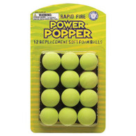 Hog Wild Popper Refill Balls set of 12 - Green