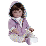 Adora Toddler Collector Doll - Rainbow Sherbet, 20 inch (50.8 cm)