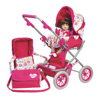 Adora Doll Deluxe Stroller, 20 inch (50.8 cm)
