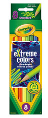 Crayola 8 eXtreme Colors Pencil Pack
