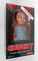 Mezco Toyz Child's Play Talking Mega Scale Chucky Action Figure, 15 inch (38.1 cm)