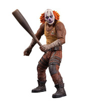 DC Collectibles Batman, Arkham City: Series 3 Clown Thug with Bat Action Figure, 6.2 inch (15.75 cm)