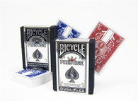 Bicycle Prestige Poker Size Playing Cards (Red or Blue)