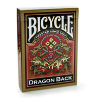 Bicycle Dragon Back Playing Cards (Blue or Red or Gold)