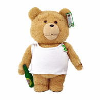 TED2 16 inch Animated Plush in TANK TOP with Sound (PG) in display box