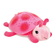 Cloud b Twilight Constellation Night Light, Pink Turtle, 12 inch (30.5 cm)
