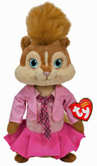 TY Alvin and Chipmunks Beanie Baby:  Brittany, 8 inch (20.3 cm)