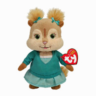 TY Alvin and Chipmunks Beanie Baby:  Eleanor, 7 inch (17.8 cm)