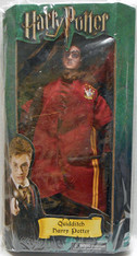 Harry Potter Boxed Plush Doll in Quidditch Robes Collectible #60454, 12 inch (30.5 cm)