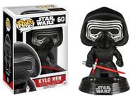 Star Wars The Force Awakens (EP7) Movie Based Pop! Collectible by Funko - Kylo Ren + BONUS